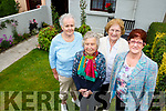 Ann O'Sullivan Charperson and  with Betty McCarthy Bernie O'Leary and Susan Walsh from Killarney Active Retirement