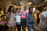 OXON HILL, MARYLAND - MAY 25:  visits Swagg Boutique at MGM National Harbor on May 25, 2019 in Oxon Hill, Maryland. (Photo by Brian Stukes/ON-SITEFOTOS)