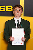 Boys Squash winner Sion Wiggins from Westlake Boys High School. ASB College Sport Young Sportsperson of the Year Awards held at Eden Park, Auckland, on November 24th 2011.