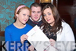 ENTRY FORM: Simone Hennessy, Kenneth O'Sullivan and Carrie Hennessy looking over the application form to enter the K FACTOR talent competition at Benners Hotel, Tralee, on Sunday morning.   Copyright Kerry's Eye 2008