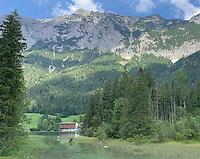 Blick auf den Hintersee - Berchtesgaden 16.07.2019: Zauberwald in Ramsau bei Bechtesgaden