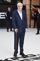 """LONDON, UK. September 12, 2018: Sir Michael Caine at the World Premiere of """"King of Thieves"""" at the Vue Cinema, Leicester Square, London.<br /> Picture: Steve Vas/Featureflash"""