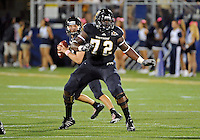 Florida International University football player offensive lineman Ceedrick Davis (72) plays against Troy University on October 26, 2011 at Miami, Florida. FIU won the game 23-20 in overtime. .