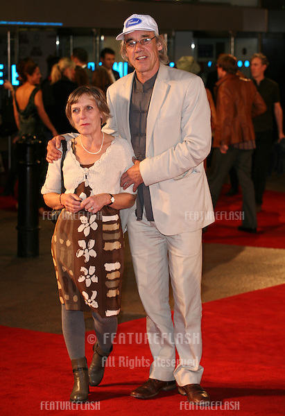 Roger Lloyd and wife arriving for the film premiere of 'Made In Dagenham' at Odeon Leicester Square, London. 20/09/2010  Picture by: Alexandra Glen / Featureflash