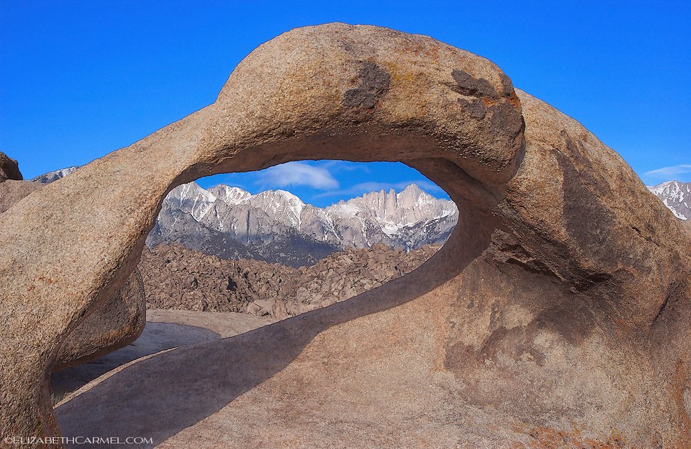 Mt. Whitney and Natural Arch