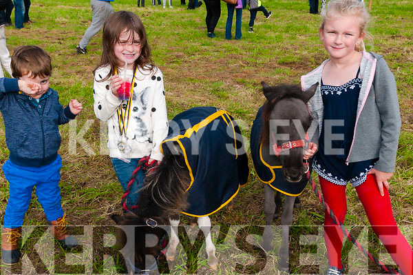 Attending the Listowel Threshing & Vintage & family day on Sunday last were Cillian & Aoibheen O'Leary & Ava Mai Sheehy, Listowel.