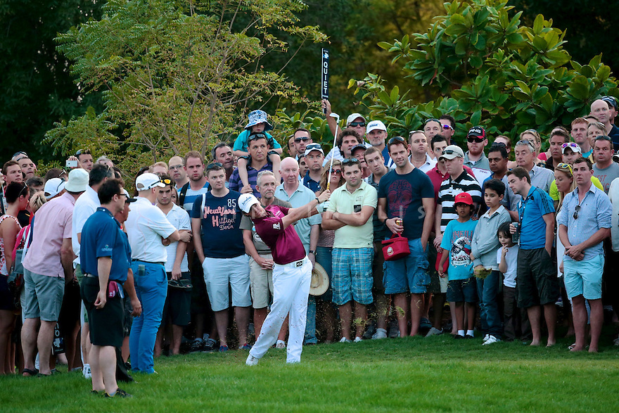 during the third round of the DP World Tour Championship played at the Earth Course, Jumeirah Estates, Dubai, UAE on the 22nd November 2012. (Picture Credit / Phil Inglis)