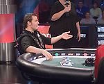 The team of Greenstein & Seebok won the tournament.  Then, they competed heads up.  On the first hand, both went all in blind.  Greenstein won the hand.