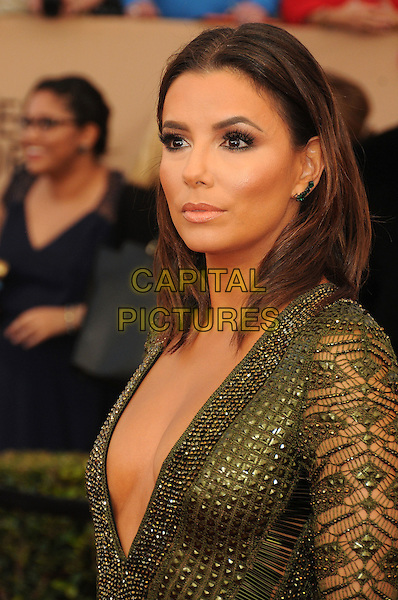 30 January 2016 - Los Angeles, California - Eva Longoria. 22nd Annual Screen Actors Guild Awards held at The Shrine Auditorium.      <br /> CAP/ADM/BP<br /> &copy;BP/ADM/Capital Pictures