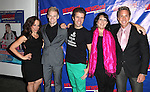 Leslie Kritzer, Tommy Walker, Perez Hilton, Christine Pedi, Michael West attending the Opening Night Performance of Perez Hilton in 'NEWSical The Musical' at the Kirk Theatre  in New York City on September 17, 2012.