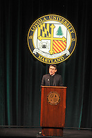 Loyola University introduced the new head coach for the men's basketball team.