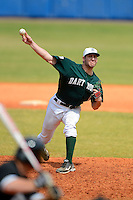 Dartmouth Big Green pitcher Mike Dodakian (8) during a game against the Long Island Blackbirds at Chain of Lakes Stadium on March 17, 2013 in Winter Haven, Florida.  Dartmouth defeated UAB 11-4.  (Mike Janes/Four Seam Images)