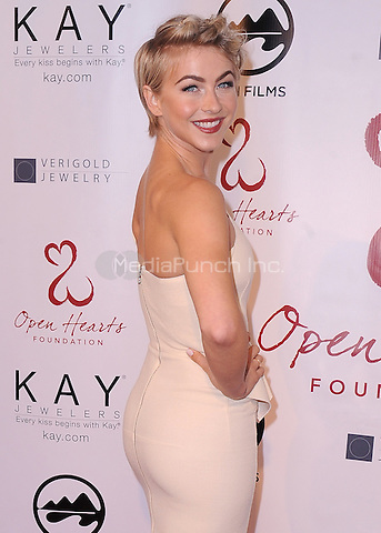 MALIBU, CA - MAY 10:  Julianne Hough at the 4th Annual Open Hearts Gala at a private residence on May 10, 2014 in Malibu, California. Credit: PGSK/MediaPunch