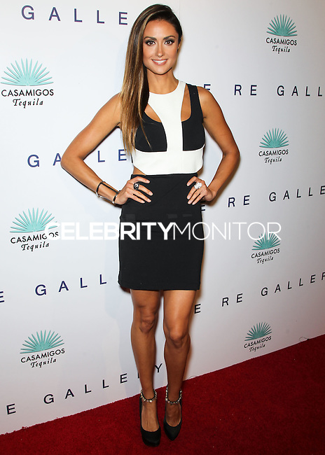 WEST HOLLYWOOD, CA, USA - OCTOBER 23: Katie Cleary arrives at Brian Bowen Smith's First Solo Show 'Wildlife' held at the De Re Gallery on October 23, 2014 in West Hollywood, California, United States. (Photo by Celebrity Monitor)