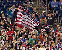 New England Revolution fans. In a Major League Soccer (MLS) match, the New England Revolution defeated FC Dallas, 2-0, at Gillette Stadium on September 10, 2011.