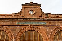 MALI, Bamako, railway station, colonial building from french colonial time /Bahnhof, koloniales Gebaeude aus der französischen Kolonialzeit, Bahnlinie Bamako-Dakar