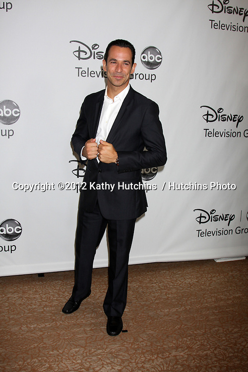 LOS ANGELES - JUL 27:  Helio Castroneves arrives at the ABC TCA Party Summer 2012 at Beverly Hilton Hotel on July 27, 2012 in Beverly Hills, CA