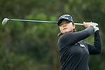 Min-Young Lee of South Korea tees off the 14th hole during Round 2 of the World Ladies Championship 2016 on 11 March 2016 at Mission Hills Olazabal Golf Course in Dongguan, China. Photo by Victor Fraile / Power Sport Images