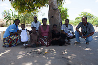 Rita Sebastiao is 9 years old, deaf-dumb since birth, and lives in Mutua, Sofala province, Mozambique together with her family. Handicap International supports Rita with school material and provided her access to an inclusive school. Beira Handicap International team together with Rita during a monitoring visit in Dondo area.