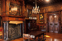 Europe/Belgique/Flandre/Province d'Anvers/Anvers : Le musée Mayer Van Den Bergh - Détail de la bibliothèque