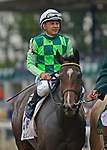 October 6, 2019: Kimari, trained by Wesley Ward, wins the Indian Summer Stakes at Keeneland on October 6, 2019 in Lexington, KY. Jessica Morgan/ESW/CSM