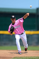 Erie Seawolves pitcher Kyle Lobstein #31 during a game against the New Hampshire Fisher Cats on June 9, 2013 at Jerry Uht Park in Erie, Pennsylvania.  New Hampshire defeated Erie 3-2.  (Mike Janes/Four Seam Images)