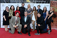 LOS ANGELES - SEP 28:  Badland Cast and Crew at the 2019 Catalina Film Festival - Saturday at the Catalina Bay on September 28, 2019 in Avalon, CA