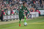 15.04.2018, Weser Stadion, Bremen, GER, 1.FBL, Werder Bremen vs RB Leibzig, im Bild<br /> <br /> Theodor Gebre Selassie (Werder Bremen #23)<br /> <br /> Foto &copy; nordphoto / Kokenge