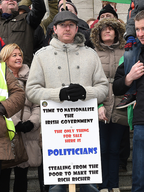 Water protest march. Photo:Colin Bell/pressphotos.ie