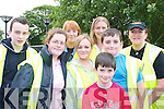 All ready for a.days motorcycle.racing in.Athea on Saturday..Front,.Lason Kelly,.Athea. Middle.row from left,.J o a n n e.O  B r i e n ,.S h a r o n.OBrien and.James Kelly,.Tralee. Back.row from left,.Liam OBrien.and Betty.Kelly, Athea,.Ann OConnor.and Ann.McEl l i g o t t -.Kelly, Tralee.