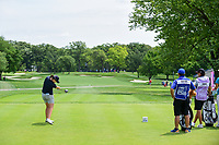Caroline Masson (DEU) hits her tee shot on 2 during Thursday's round 1 of the 2017 KPMG Women's PGA Championship, at Olympia Fields Country Club, Olympia Fields, Illinois. 6/29/2017.<br /> Picture: Golffile | Ken Murray<br /> <br /> <br /> All photo usage must carry mandatory copyright credit (&copy; Golffile | Ken Murray)