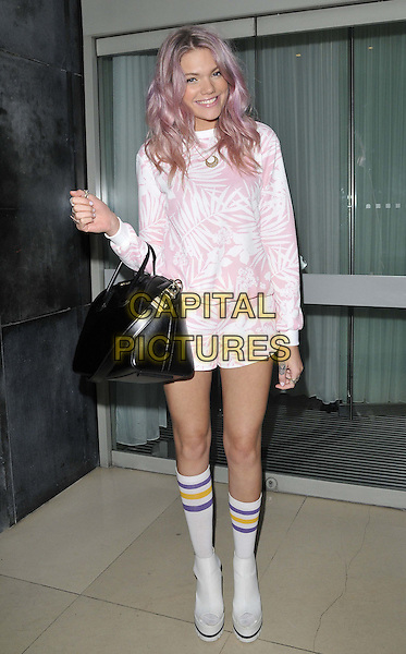 LONDON, ENGLAND - OCTOBER 23: Becca Dudley attends the Tanya Burr Cosmetics beauty products launch party, Sanderson Hotel, Berners St., on Thursday October 23, 2014 in London, England, UK. <br /> CAP/CAN<br /> &copy;Can Nguyen/Capital Pictures