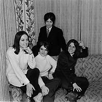 Les Intrigantes<br /> , Fevrier 1967<br /> <br /> PHOTO : Agence Quebec Presse - Photo Moderne
