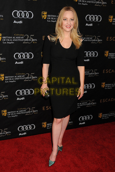 Wendi McLendon-Covey.18th Annual BAFTA Los Angeles Awards Season Tea Party held at the Four Seasons Hotel, Beverly Hills, California, USA..January 14th, 2012.full length dress black.CAP/ADM/BP.©Byron Purvis/AdMedia/Capital Pictures.