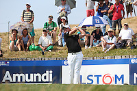 James Morrison (ENG) drives to the 17th during Round Three of the 2015 Alstom Open de France, played at Le Golf National, Saint-Quentin-En-Yvelines, Paris, France. /04/07/2015/. Picture: Golffile | David Lloyd<br /> <br /> All photos usage must carry mandatory copyright credit (© Golffile | David Lloyd)