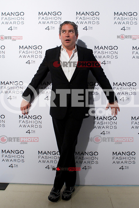 Host Boris Izaguirre attends the award ceremony of the Mango Fashion Awards,  Barcelona Spain, May 30, 2012