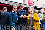 Sarah MaCarthy, Gary O'Brien and Mary McCarthy at the Dingle Food Festival over the weekend.