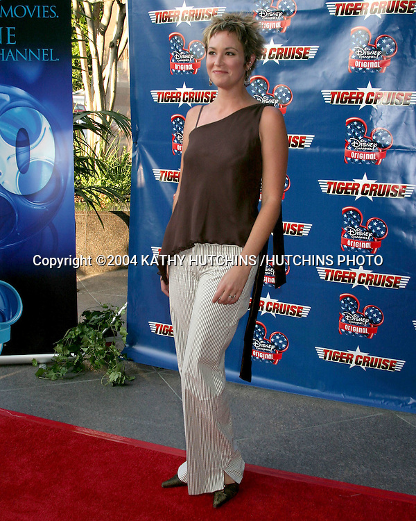 "©2004 KATHY HUTCHINS /HUTCHINS PHOTO.PREMIERE OF ""TIGER CRUISE"".HOLLYWOOD, CA.JULY 27, 2004..KIM RHODES"