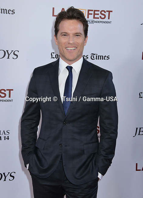 Joseph Russo  at the Jersey Boys Premiere at the Regal Theatre in Los Angeles.