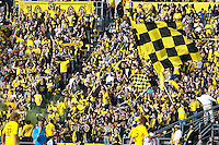 27 MARCH 2010:  Crew Fans during the Toronto FC at Columbus Crew MLS game in Columbus, Ohio on March 27, 2010.