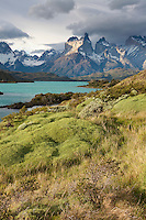 The horns, Pehoe lake, Torres del Paine National Park, Chile