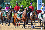 Jungle Runner (5) with jockey Tyler Baze aboard during the 1st division of the Arkansas Derby at Oaklawn Racing Casino Resort in Hot Springs, Arkansas on May 2, 2020. Ted McClenning/Eclipse Sportswire/CSM