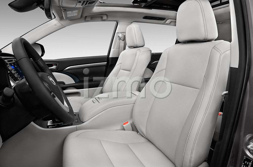 Front seat view of 2017 Toyota Highlander Limited-Platinum 5 Door SUV Front Seat  car photos