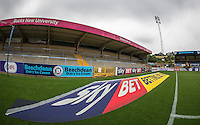 General view of the Stadium during the Sky Bet League 2 match between Wycombe Wanderers and Colchester United at Adams Park, High Wycombe, England on 27 August 2016. Photo by Andy Rowland.