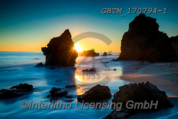 Tom Mackie, LANDSCAPES, LANDSCHAFTEN, PAISAJES, photos,+America, American, Americana, California, El Matador Beach, Malibu, North America, Tom Mackie, USA, beach, beaches, blue, coa+st, coastal, coastline, coastlines, dramatic outdoors, horizontally, horizontals, landscape, ocean, rocky, sea, sea stack, su+nburst, sunrise, sunrises, sunset, sunsets, time of day, yellow,America, American, Americana, California, El Matador Beach, M+alibu, North America, Tom Mackie, USA, beach, beaches, blue, coast, coastal, coastline, coastlines, dramatic outdoors, horizo+,GBTM170794-1,#l#, EVERYDAY