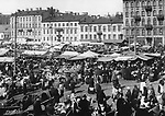 Market at Intercession square. Sankt-Petersburg. March 28, 1914. / Рынок на Покровской площади. Санкт-Петербург. 28 марта 1914.