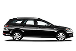 Passenger side profile view of 2011 Ford Mondeo Trend Wagon Stock Photo