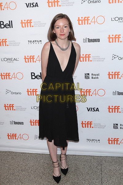 Toronto, Canada - September 13: Deragh Campbell Moryto attends the 'Born To Be Blue' premiere at the 2015 Toronto International Film Festival on September 13, 2015 in Toronto, Canada.<br /> CAP/MPI/COR<br /> &copy;COR/MPI/Capital Pictures
