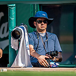 30 April 2017: Photographer Nick Wass covers an MLB game between the Washington Nationals and the New York Mets at Nationals Park in Washington, DC. The Nationals defeated the Mets 23-5, with the Nationals setting several individual and team records, in the third game of their weekend series. Mandatory Credit: Ed Wolfstein Photo *** RAW (NEF) Image File Available ***
