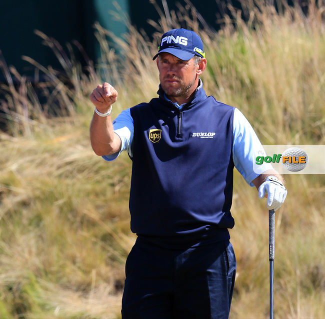 LEE WESTWOOD (ENG) waits on the 6th tee during Friday's Round 2 of the 2015 U.S. Open 115th National Championship held at Chambers Bay, Seattle, Washington, USA. 6/19/2015.<br /> Picture: Golffile | Eoin Clarke<br /> <br /> <br /> <br /> <br /> All photo usage must carry mandatory copyright credit (&copy; Golffile | Eoin Clarke)